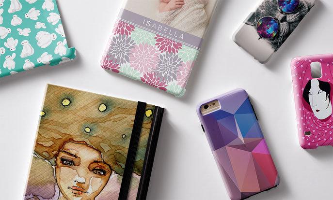 Shop hoesjes en sleeves voor jouw favoriete gadget en personaliseer met kleur, tekst en foto's.