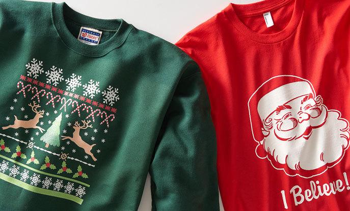 Warme en grappige Kerst t-shirts en sweaters van Zazzle.nl