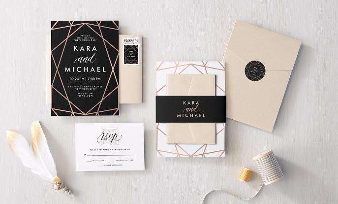Huwelijksuitnodigingen