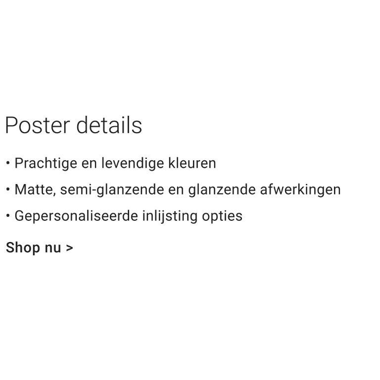 Gepersonaliseerde posters