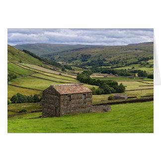 Swaledale, de Dallen van Yorkshire Kaart