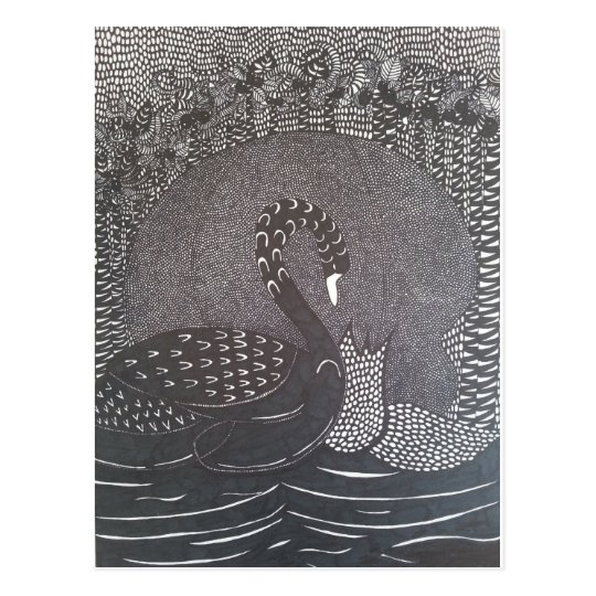 Swan Briefkaart