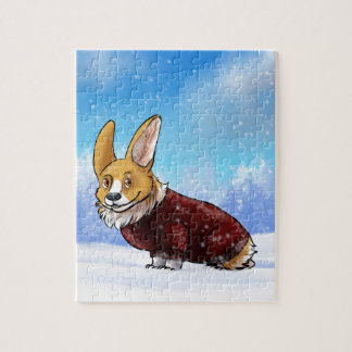 sweater corgi 2 puzzel