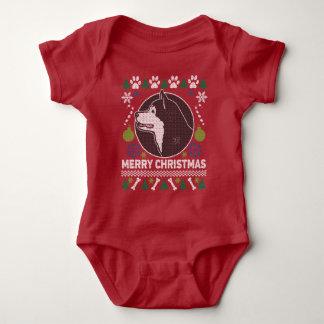 Sweater van Alaska van Kerstmis van het Hondenras