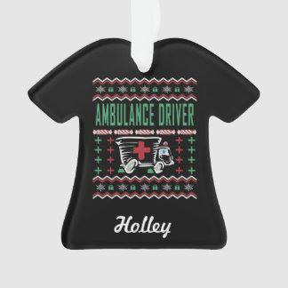 Sweater van Kerstmis van de Bestuurder van de Ornament