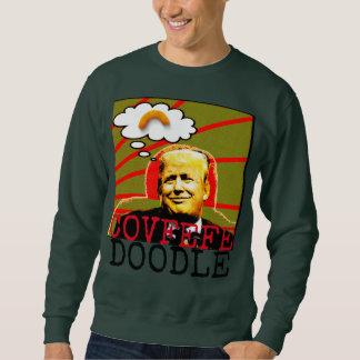 Sweater van Kerstmis van de Krabbel van Covfefe