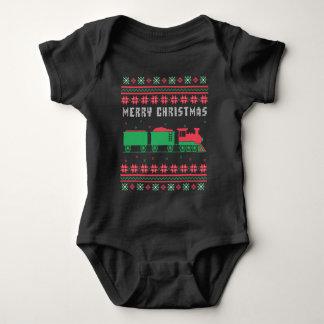 Sweater van Kerstmis van de Spoorweg van de trein