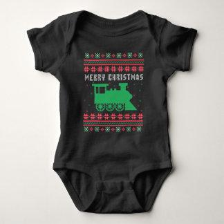 Sweater van Kerstmis van de trein de
