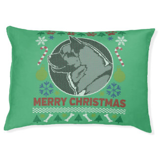 Sweater van Kerstmis van het Hondenras van Akita Hondenbedden