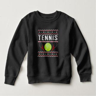Sweater van Kerstmis van het tennis de Lelijke