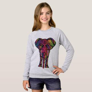 Sweatshirt American Apparel Raglan voor meisjes