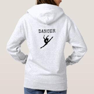 Sweatshirt het met een kap van de danser
