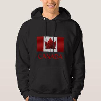 Sweatshirt het Met een kap van de Vlag van Canada