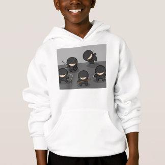 Sweatshirt het Met een kap van Ninja (de Jeugd)