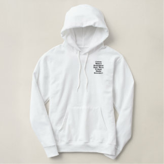 Sweatshirt Hoodie van de Vrouwen van de douane het