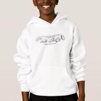 Sweatshirt/Schaaldieren de het Met een kap van de