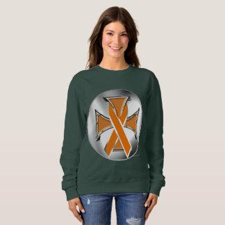 Sweatshirt van de Dames van het Ijzer van Kanker