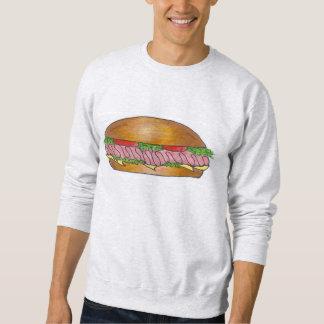 Sweatshirt van de Sandwich van de Italiaanse