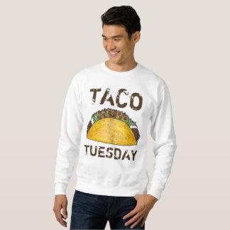 Sweatshirt van Foodie van de Taco's van het