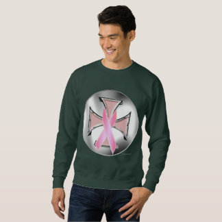 Sweatshirt van het Mannen van het Ijzer van Kanker