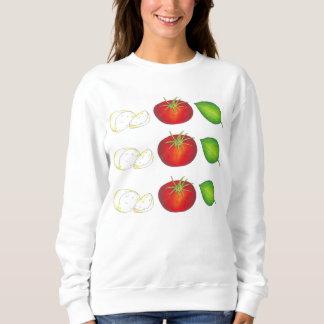 Sweatshirt van het Voedsel van het Basilicum van