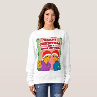 Sweatshirt van Kerstmis van de Veroveraars van