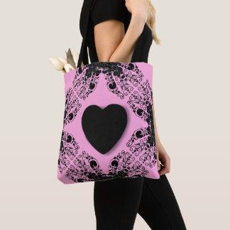 Sweetheart-Black-Pink-Totes-Shoulder-Bag's_Multi Draagtas