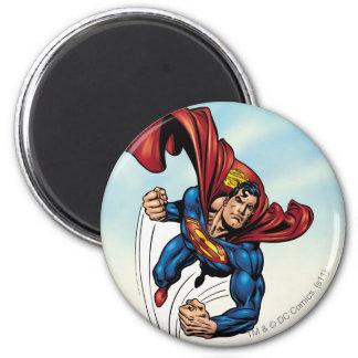 Swift van de superman door de lucht magneet