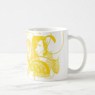 swirly meisje koffiemok