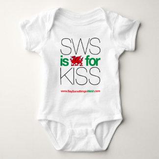 SWS is de Bewoners van Wales voor Kus! Romper