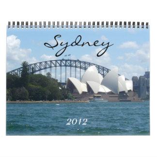 Sydney 2012 kalender
