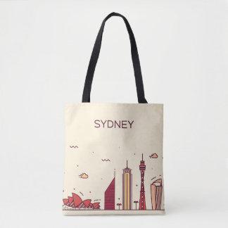Sydney, Australië | Horizon van de Krabbel Draagtas