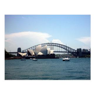 Sydney haven aust briefkaart