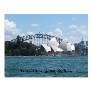Sydney haven briefkaart