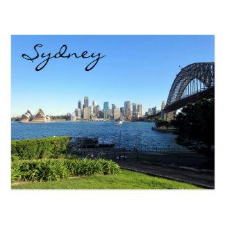 Sydney havenblauw briefkaart