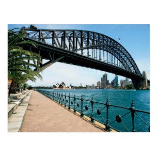 Sydney havenbrug briefkaart