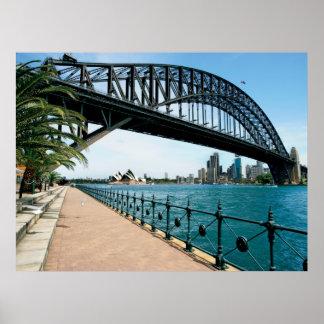 Sydney havenbrug poster