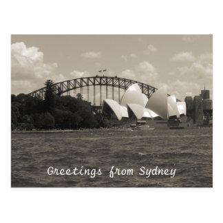 Sydney havengrijs briefkaart