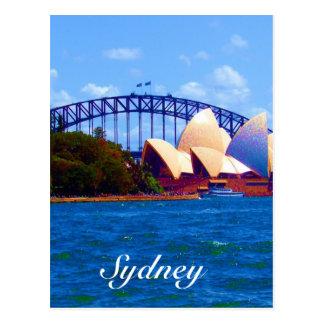 Sydney havenkleuren briefkaart