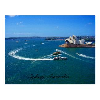 Sydney operahuis briefkaart