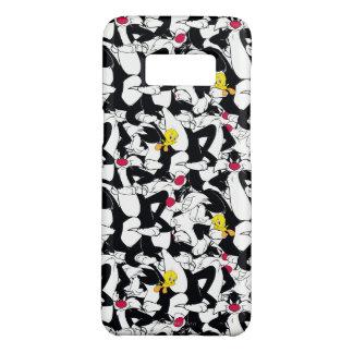 SYLVESTER™ & Patroon TWEETY™ Case-Mate Samsung Galaxy S8 Hoesje