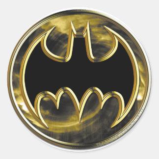 Symbool | van Batman Gouden Logo Ronde Sticker