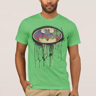 Symbool | van Batman Groen Paars Rood Logo T Shirt