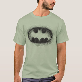 Symbool | van Batman Halftone Logo T Shirt