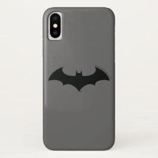 Symbool | van Batman het Eenvoudige Logo van het iPhone X Hoesje