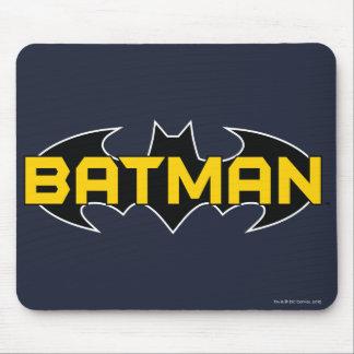 Symbool | van Batman het Gele & Zwarte Logo van de Muismat