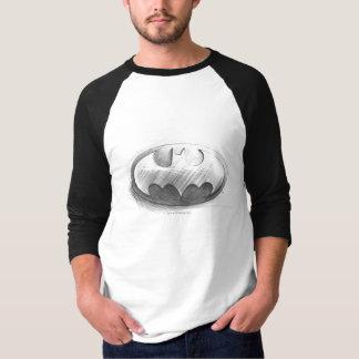 Symbool | van Batman het Logo van de Tekening van T Shirt
