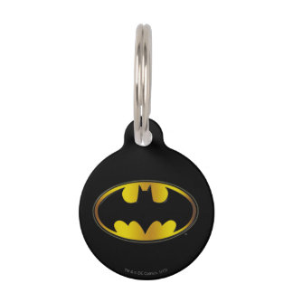 Symbool | van Batman het Ovale Logo van de Huisdier Tags
