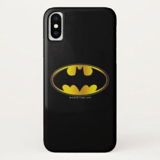 Symbool | van Batman het Ovale Logo van de iPhone X Hoesje