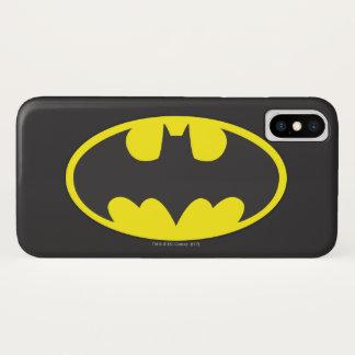 Symbool | van Batman het Ovale Logo van de Knuppel iPhone X Hoesje